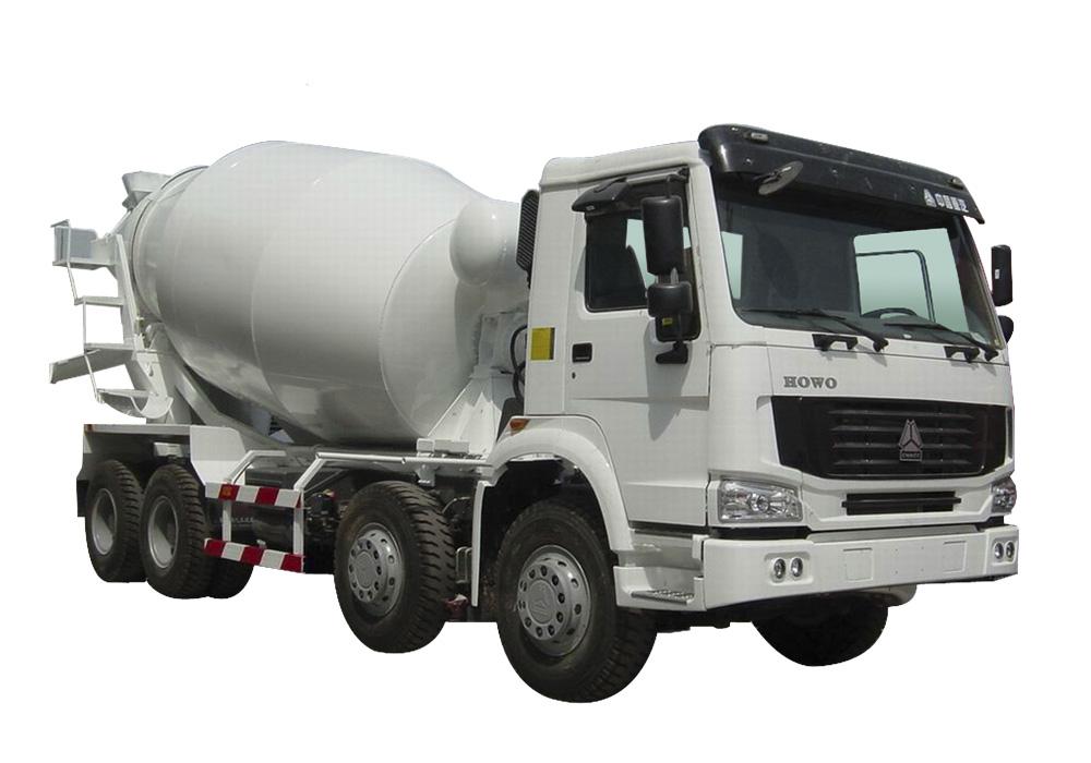 کامیون مخلوط کننده ی بتن