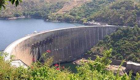 سد کاریبا، بزرگ ترین سد جهان