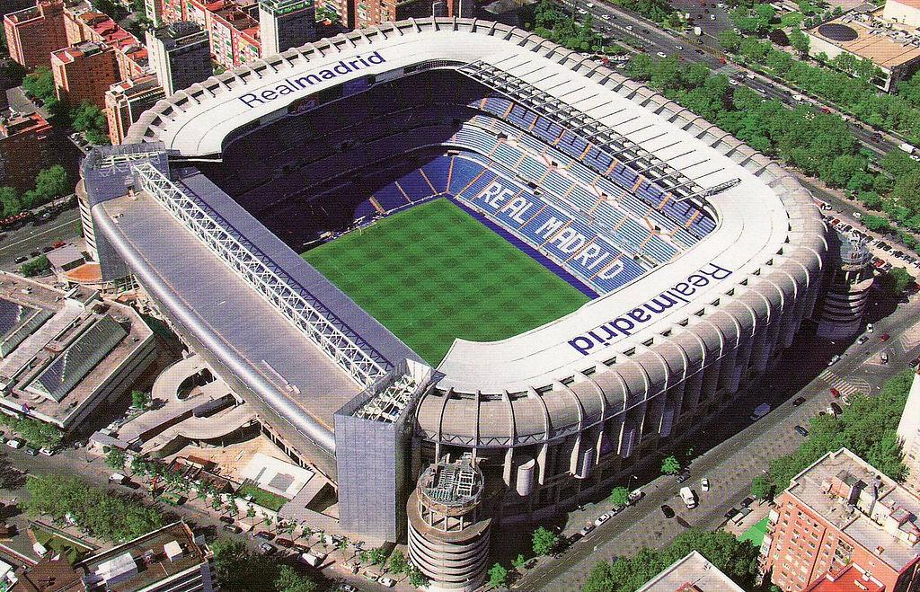 مشخصات ورزشگاه سانتیاگو برنابئو