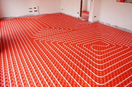 سیستم گرمایش از کف ساختمان