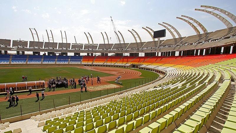 آخرین وضعیت ورزشگاه نقش جهان در سال 95