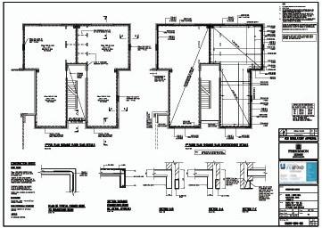 نقشه ی سازه ای ساختمان
