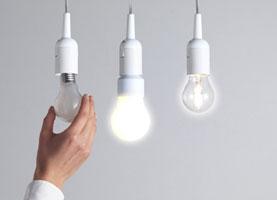 مقایسه نوردهی و وصرف انرژی انواع لامپ ها