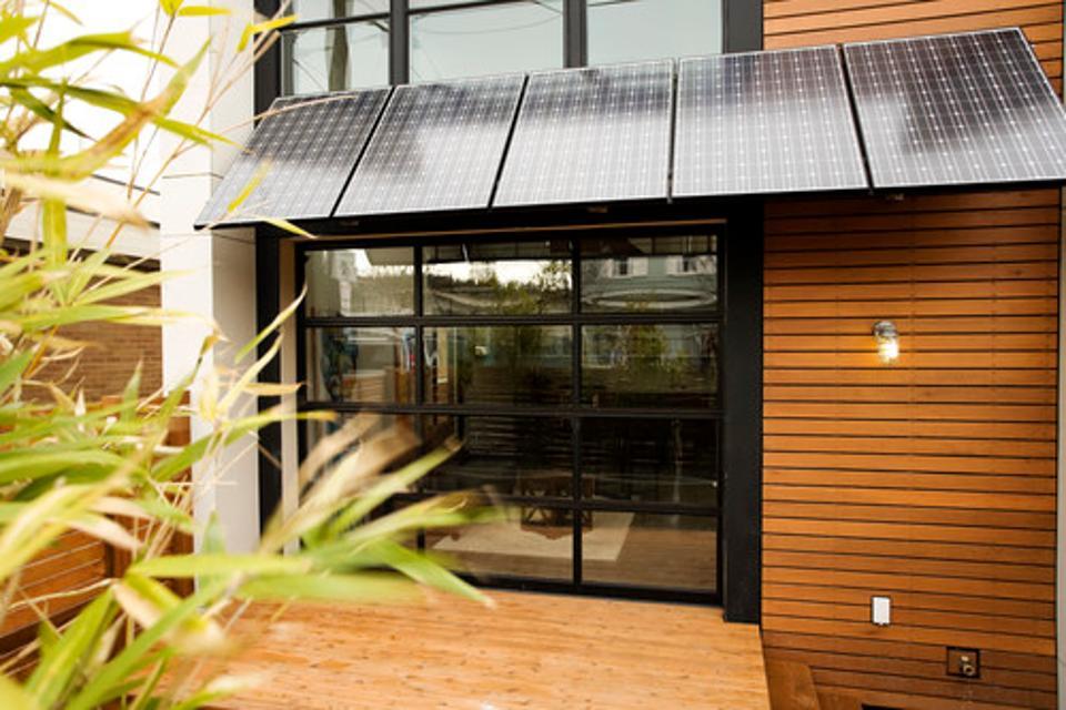 انرژی خورشیدی در خانه