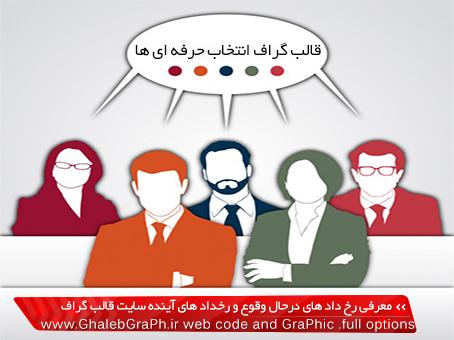 معرفی رخ داد های درحال وقوع و رخداد های آینده سایت قالب گراف